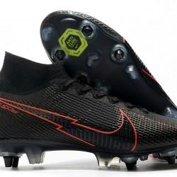 Nike Mercurial Superfly 7 Elite SG-PRO AC Black Red 39-45