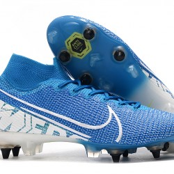 Nike Mercurial Superfly 7 Elite SG-PRO AC Blue White 39-45