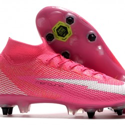Nike Mercurial Superfly 7 Elite SG-PRO AC Pink Silver 39-45
