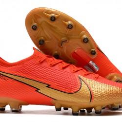 Nike Mercurial Vapor 13 Elite AG Red Gold 39-45