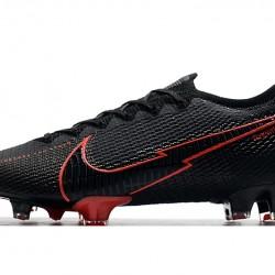 Nike Mercurial Vapor 13 Elite FG Black Red 39-45