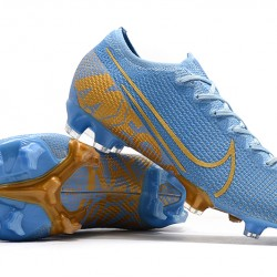 Nike Mercurial Vapor 13 Elite FG Blue Gold 39-45
