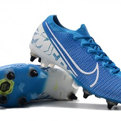 Nike Mercurial Vapor 13 Elite SG-PRO AC Blue White 39-45