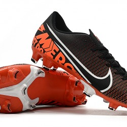 Nike Mercurial Vapor XIII FG Black Orange White 39-45