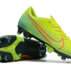 Nike Mercurial Vapor XIII FG Green Blue Orange 39-45