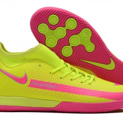 Nike Phantom GT Academy Dynamic Fit IC Green Pink 39-45