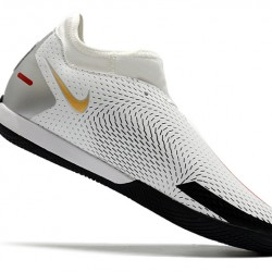 Nike Phantom GT Academy Dynamic Fit IC White Black Gold 39-45
