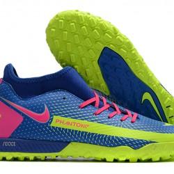 Nike Phantom GT Academy Dynamic Fit TF Blue Green Pink 39-45