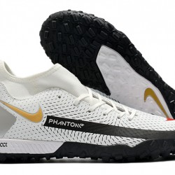 Nike Phantom GT Academy Dynamic Fit TF White Black Gold 39-45