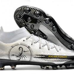 Nike Phantom GT Elite Dynamic Fit AG-Pro Silver Black 39-45