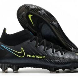 Nike Phantom GT Elite Dynamic Fit FG Black Green Blue 39-45