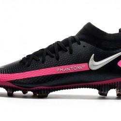 Nike Phantom GT Elite Dynamic Fit FG Black Pink White 39-45