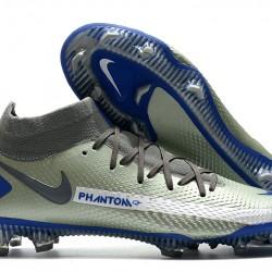 Nike Phantom GT Elite Dynamic Fit FG Grey Blue 39-45