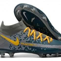 Nike Phantom GT Elite Dynamic Fit FG Grey Blue Orange 39-45
