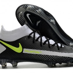Nike Phantom GT Elite Dynamic Fit FG White Black Green 39-45