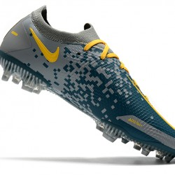 Nike Phantom GT Elite FG Grey Blue Yellow 39-45