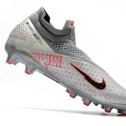 Nike Phantom VSN 2 Elite DF AG-PRO Grey Black Red 39-45