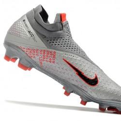 Nike Phantom VSN 2 Elite DF FG Grey Red Black 39-45