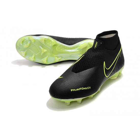 Nike Phantom VSN Elite DF FG Black Green 39-45