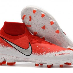 Nike Phantom VSN Elite DF FG Red White 39-45