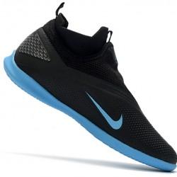 Nike Phantom Vison II Club DF IC Black Blue 39-45