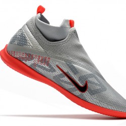 Nike Phantom Vison II Club DF IC Grey Red 39-45