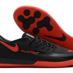Nike React Phantom GT Pro IC Black Red 39-45