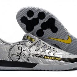 Nike React Phantom GT Pro IC Grey Black 39-45