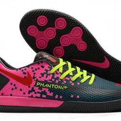 Nike React Phantom GT Pro IC Pink Blue Green 39-45