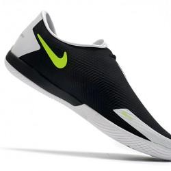 Nike React Phantom GT Pro IC White Black Green 39-45
