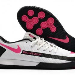 Nike React Phantom GT Pro IC White Black Pink 39-45
