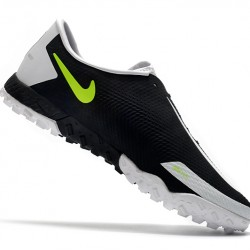 Nike React Phantom GT Pro TF Black Grey Green 39-45