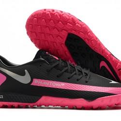 Nike React Phantom GT Pro TF Black Pink Grey 39-45