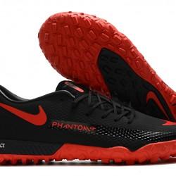 Nike React Phantom GT Pro TF Black Red 39-45