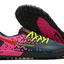 Nike React Phantom GT Pro TF Pink Green Black 39-45
