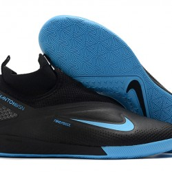 Nike React Phantom Vision 2 Pro Dynamic Fit IC Black Blue 39-45