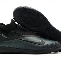 Nike React Phantom Vision 2 Pro Dynamic Fit IC Black Green 39-45
