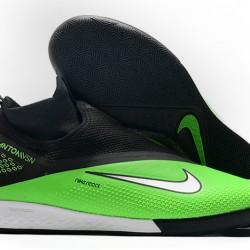 Nike React Phantom Vision 2 Pro Dynamic Fit IC Green Black 39-45