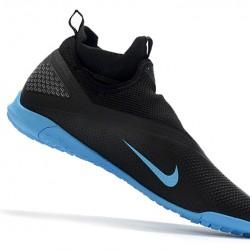 Nike React Phantom Vision 2 Pro Dynamic Fit TF Black Blue 39-45