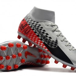 Nike Superfly 7 Academy CR7 AG Silver Black Red 39-45