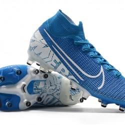 Nike Superfly 7 Elite SE AG Blue White 39-45