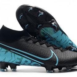 Nike Superfly 7 Elite SE FG Black Blue 39-45