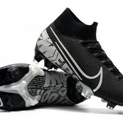 Nike Superfly 7 Elite SE FG Black Silver 39-45