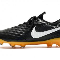 Nike Tiempo Legend 8 Elite FG Black Grey 39-45