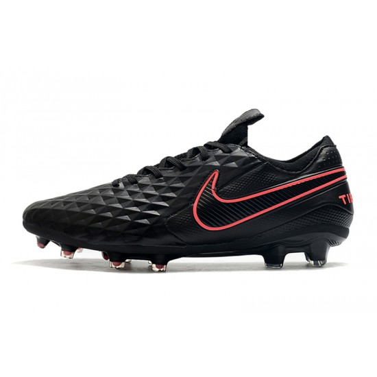 Nike Tiempo Legend 8 Elite FG Black Pink 39-45
