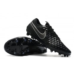 Nike Tiempo Legend 8 Elite FG Black Silver 39-45