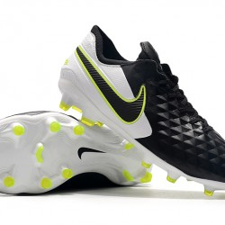 Nike Tiempo Legend 8 Elite FG Black White Green 39-45