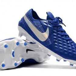 Nike Tiempo Legend 8 Elite FG Blue Silver 39-45