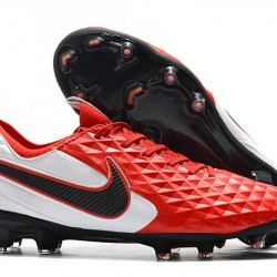 Nike Tiempo Legend 8 Elite FG Red White Black 39-45