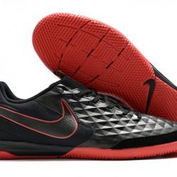 Nike Legend VIII Academy IC Black Red 39-46